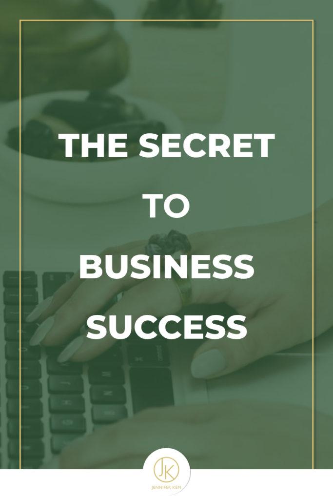 The Secret to Business Success.001