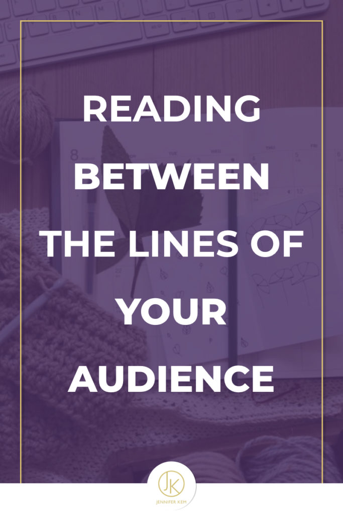 Reading Between the Lines of Your Audience.001